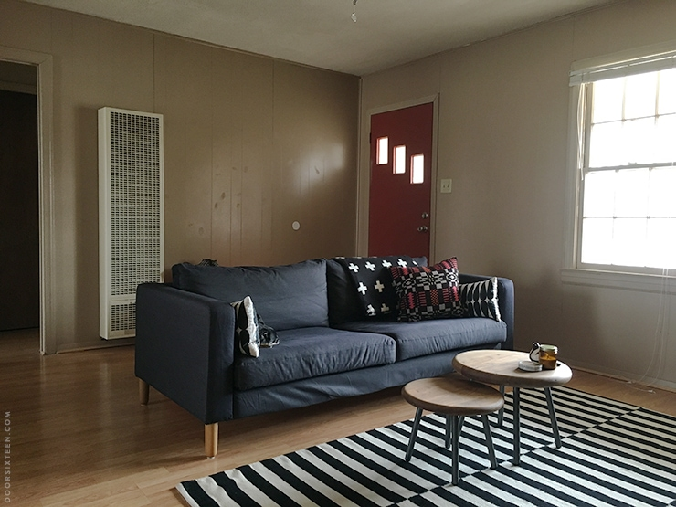 Living room makeover - doorsixteen.com