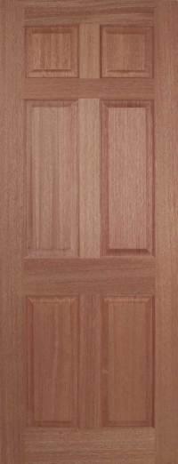 4 & 6 Panel Hardwood Internal Doors