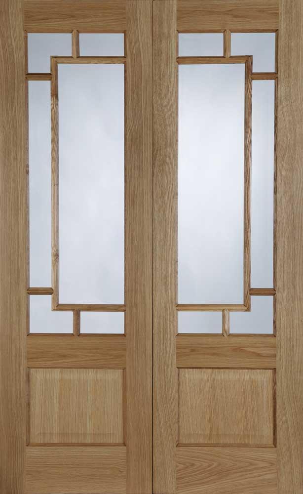 Orient Pre Finished Oak Interior Door Pair