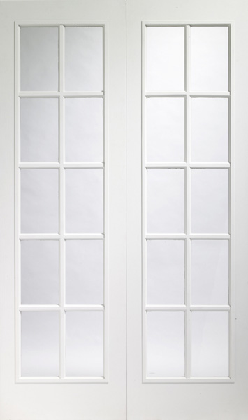 Oak Internal DoorPortabello White Interior Door Pair