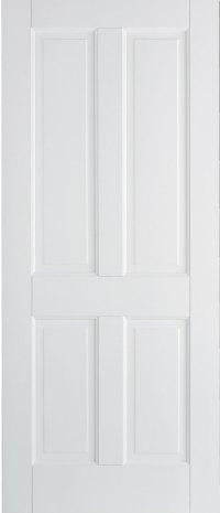 London 4 Panel & 15 Pane Internal Solid White Doors
