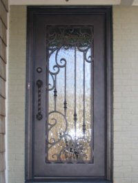 Wrought Iron Entry Doors New Orleans, Mandeville ...