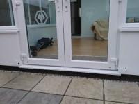 magnetic doorstop for conservatory doors