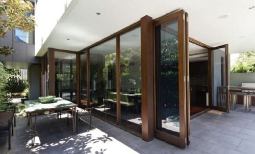 sunvu triple glazed bi folding sliding doors