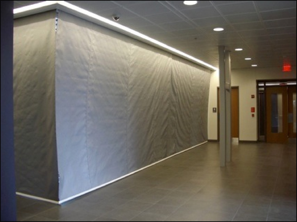 1 HR Automatic Fire Protective Smoke Curtain  Door Systems