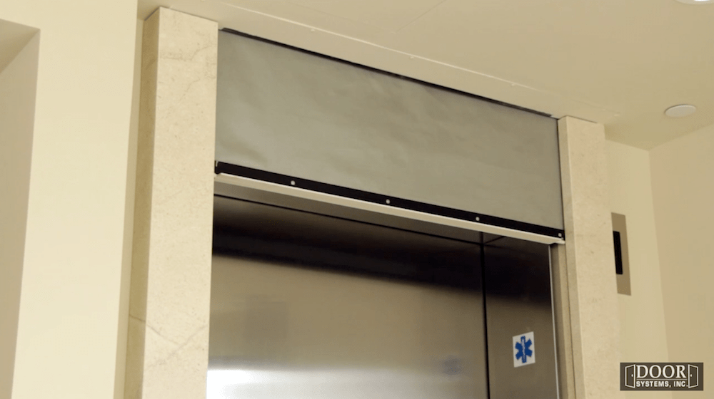 Elevator Smoke Containment System  Door Systems