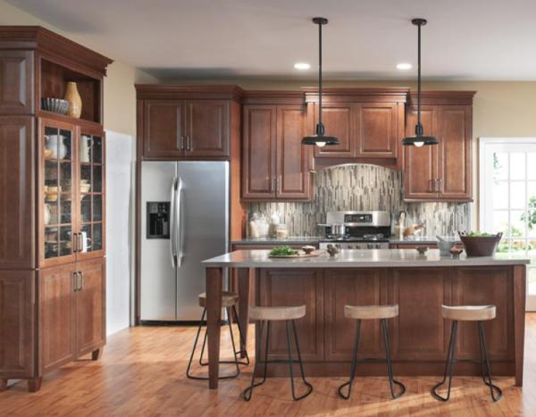 american woodmark kitchen cabinets American Woodmark Cabinets Reviews: 2018 Buyer's Guide