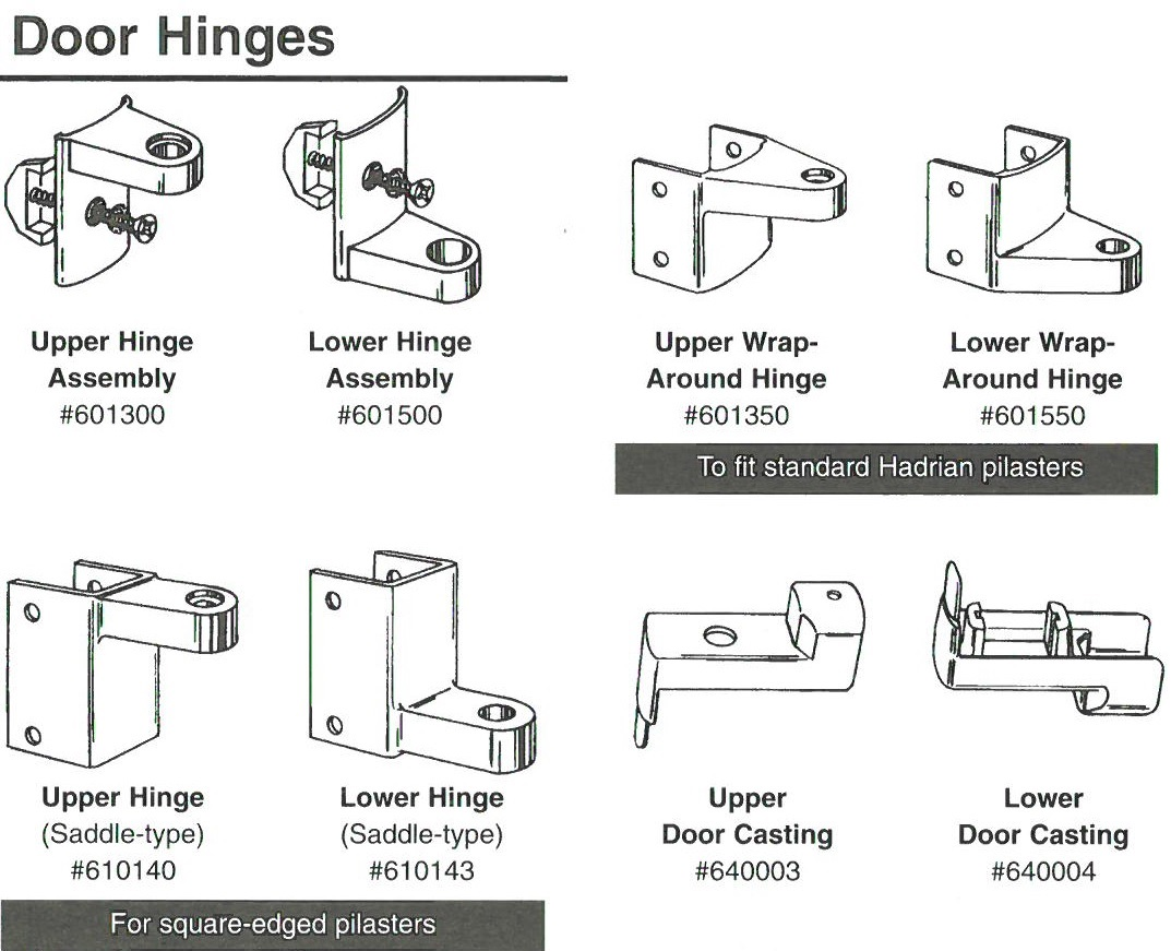 door hardware diagram 3 way switch with pilot light hadrian 601300 upper hinge assembly