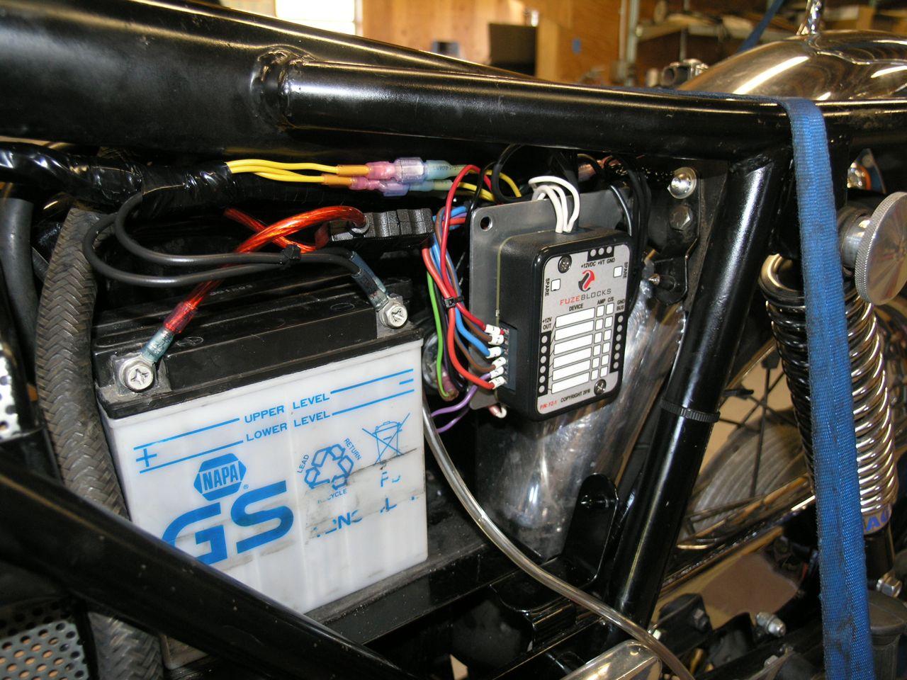 norton commando wiring diagram 2002 gmc envoy radio workshop companion