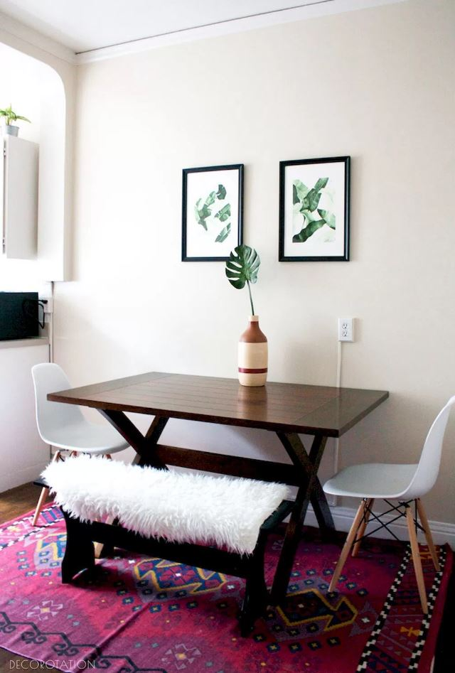 Check out these very small living room ideas. 30 Small Dining Room Ideas - Doozy List