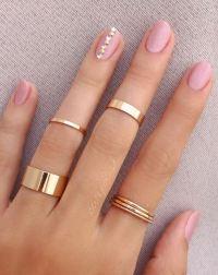 20 Pink and Pretty Nail Design Ideas - Doozy List