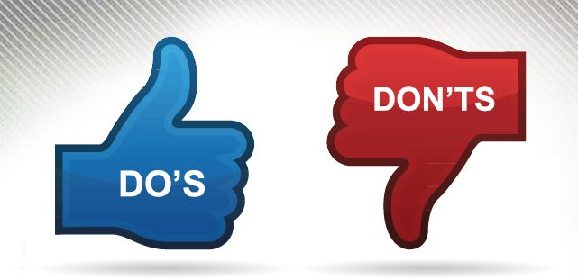 The Top 10 Do's & Don'ts of Affiliate Marketing