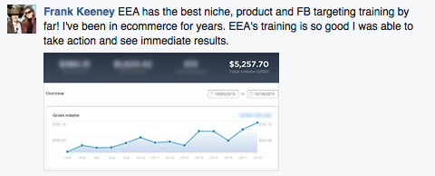 been in ecommerce for years, with ecom immediate results