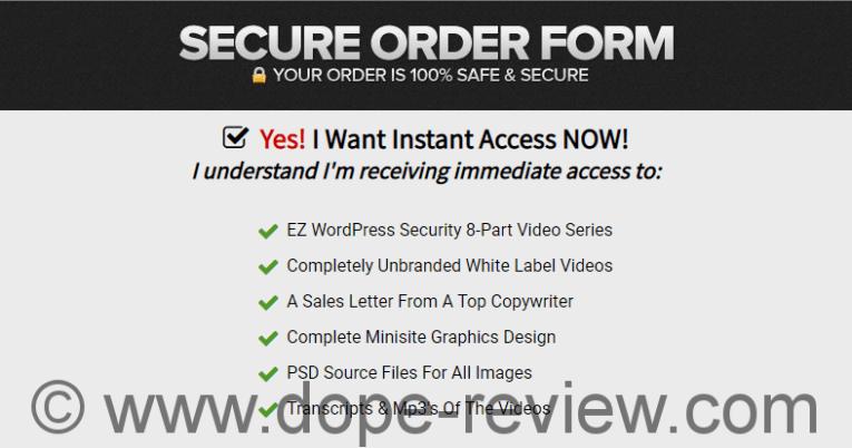 EZ WordPress Security Review