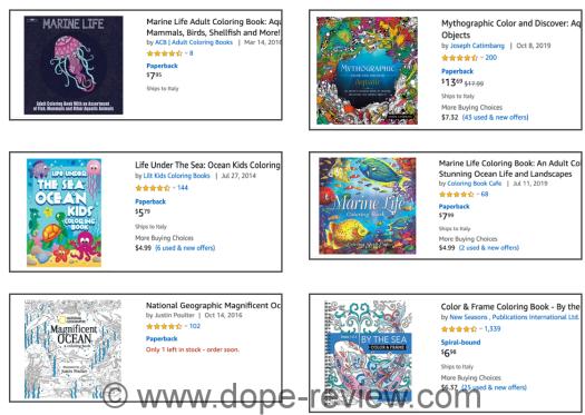 Aquatic Animals Coloring Pack Review