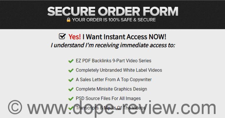 EZ PDF Backlinks Review