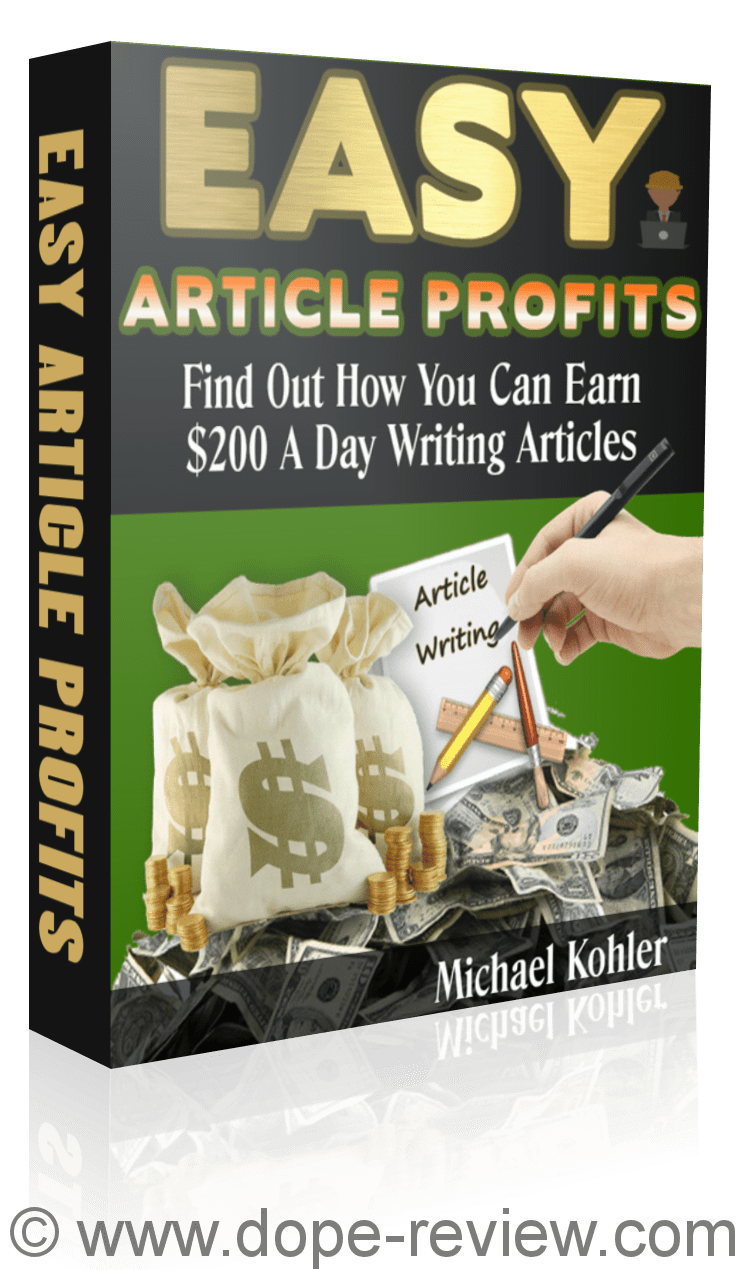Easy Article Profits Review