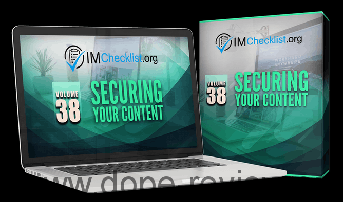 IM Checklist V38 Securing Your Content Review