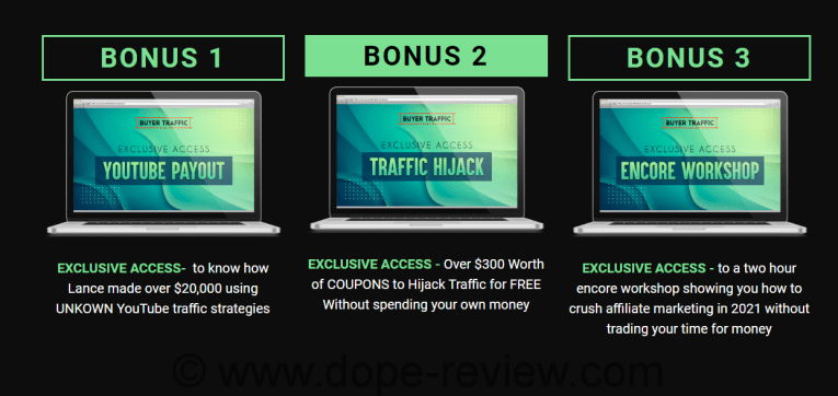 Buyer Traffic Hijack Bonus