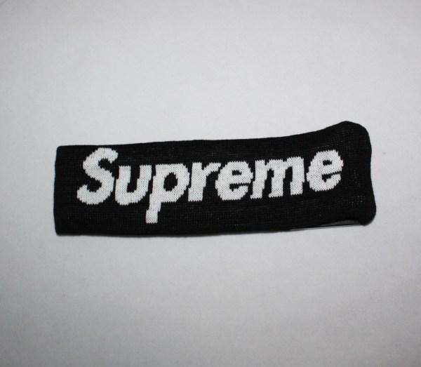 supreme 2014fw New Era Supreme Headband   Dopestudent