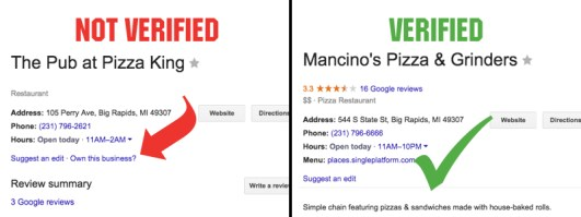 Get Google business listing verified
