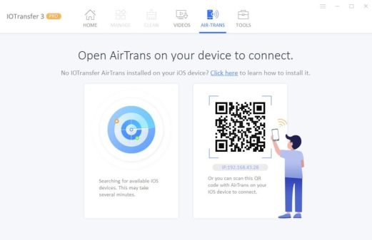 IOTransfer Air trans