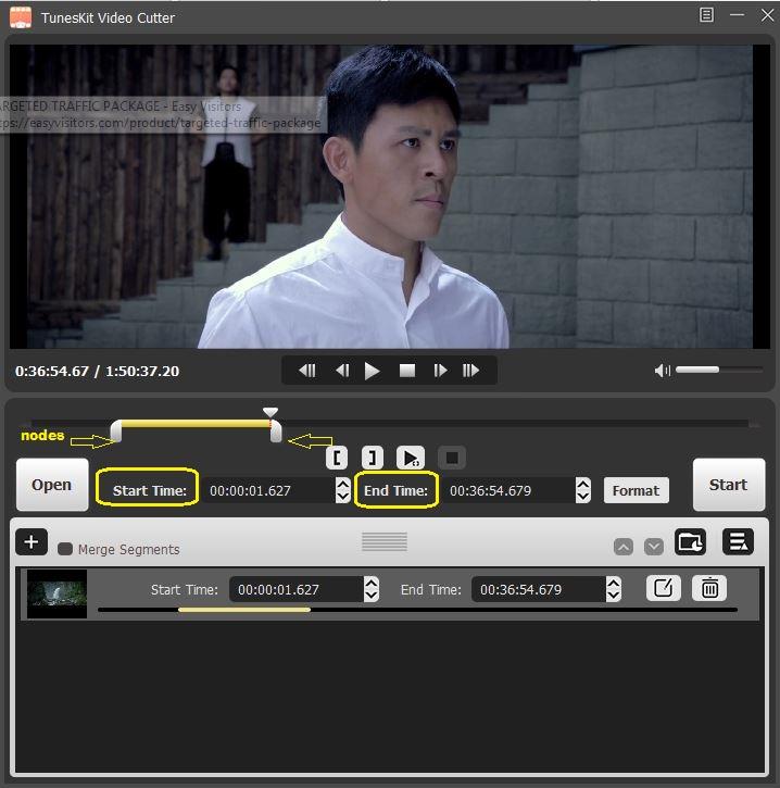 TunesKit Video Cutter