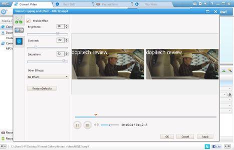 AVC editor window