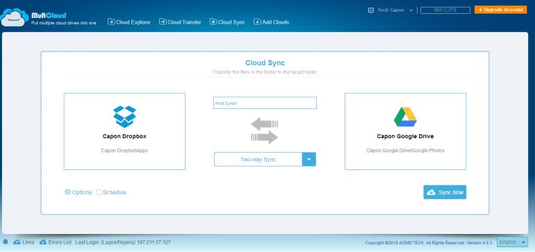 online cloud management tool