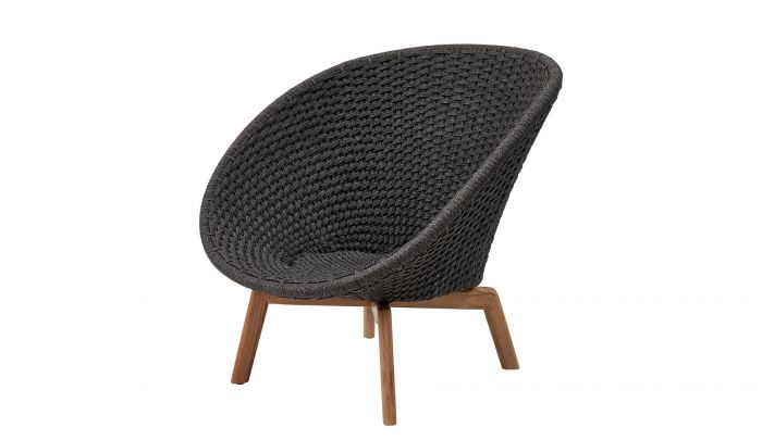cane line peacock outdoor lounge chair