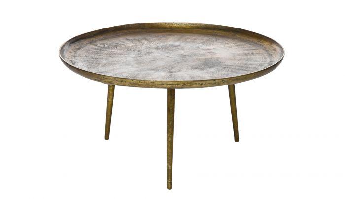 pols potten antique brass coffee table