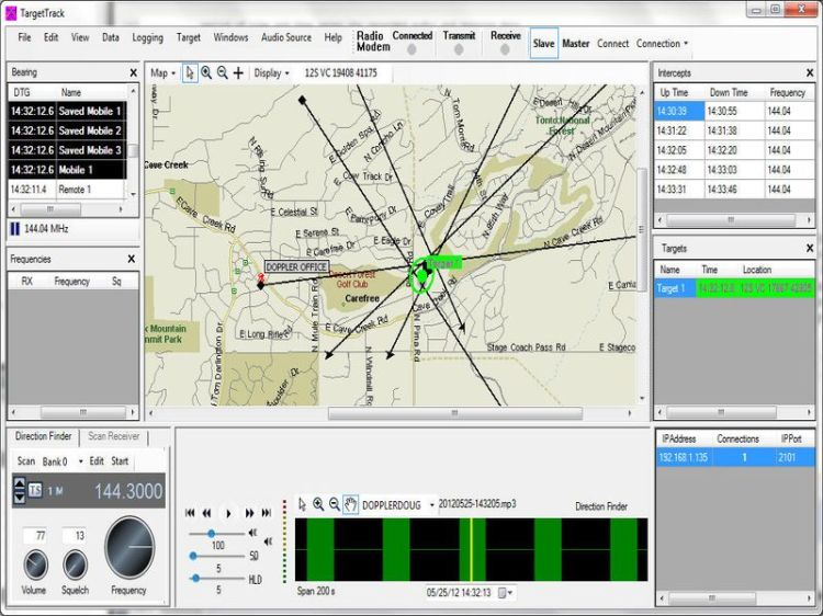 doppler tt20 tracking software