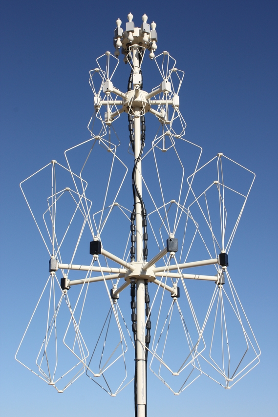 three band df antenna