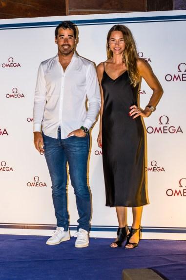 Ignacio Nacho Viale y Andrea Burstein