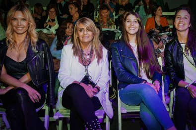 Sofia Zamolo, Marta Mercau, Fernanda Vergara y María Virginia Abdelmálek