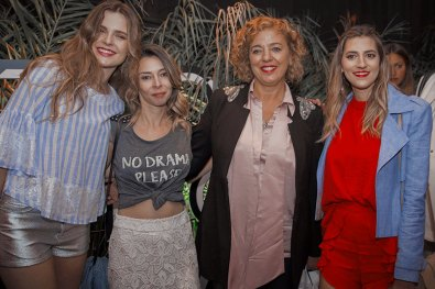 Chule Von Wernick, Maira Rivarola, Andrea Garrone y Karenina Lukoski