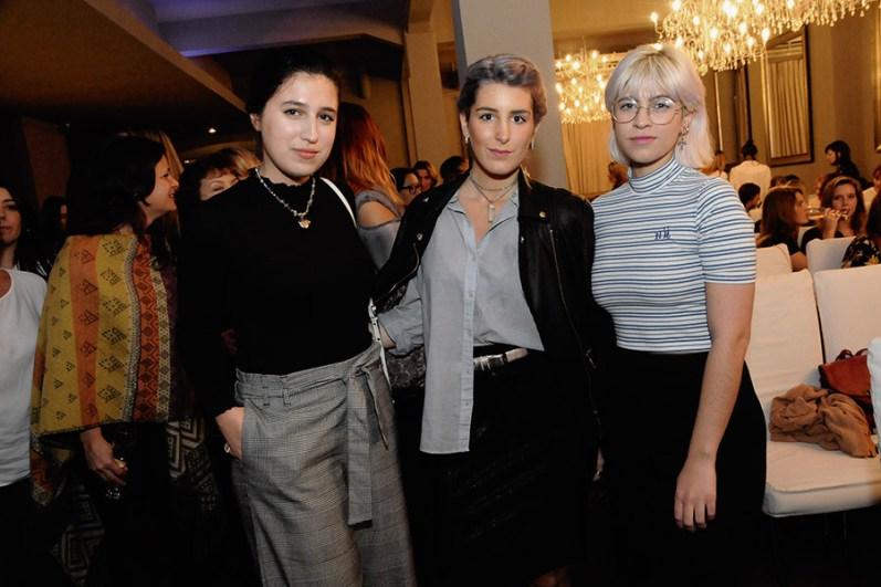 Ornela Gálvez, Rocío Giordanengo y Paula Scapin