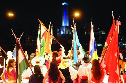 Inauguracion Fiesta de las Colectividades 25 Aniversario Foto: Silvio Moriconi / Prensa Municipalidad de Rosario