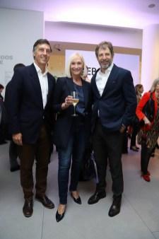 Facundo Gómez Minujin, Teresa Frías y Ramiro Otaño
