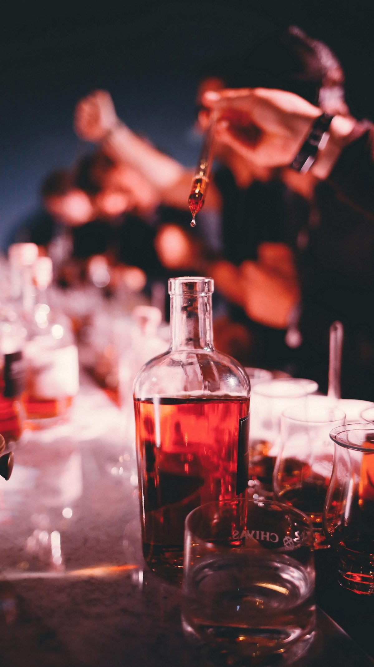 The Blend, será el lugar donde los invitados podrán preparar su propio blend de Chivas