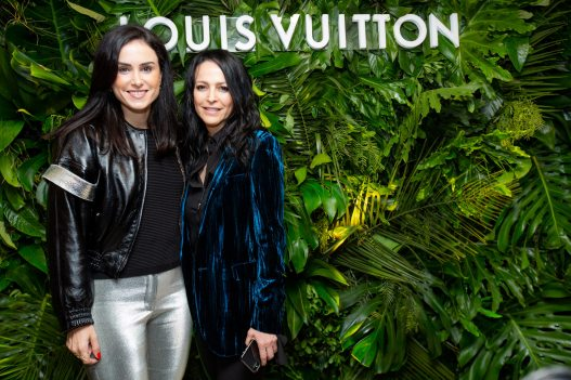 Andrezza-Mastigui,-Directora-de-Comunicacion-de-Louis-Vuitton-junto-con-Cindy-Cohen-en-la-apetura-de-Louis-Vuitton-en-Argentina