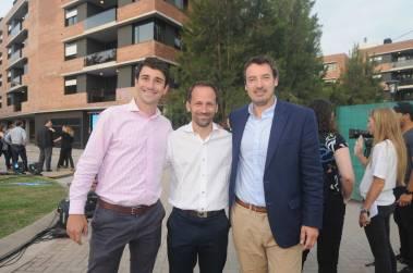 Damian Balbi, Martín Prez y Lucho Trento