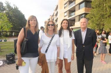 Estela Foster, Laura Montanaro, María Crespi y Pico Carreras