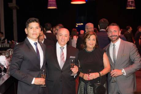 Alejandro Aristizabal, Enzo Gentile, Adriana Sedano y Gonzalo Álvarez