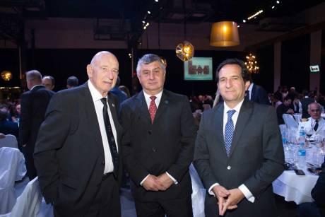 Ángel Tirelli, Gerardo Bongiovanni y Marcelo Fernández