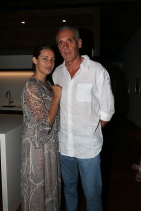 Georgina Cipriani y Giorgio Alliatta
