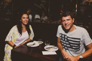 Natalia Fabiano y Adrián Gallo