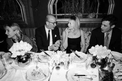 PRE-BAFTA-Margot-Robbie-and-Eric-Fellner-Chanel