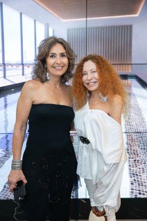 María Fernández y Maureene Dinar