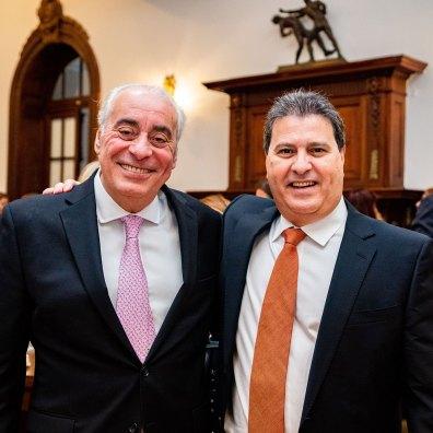 Rafael Díaz y Francesco Lacona